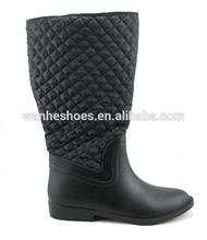 12' women's fashion warm PVC Injection snow boots
