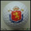 promotional pu foam customized print golf stress ball