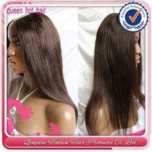 Qingdao Hair Factory Wholesale Silk Base U Part Wig Cap
