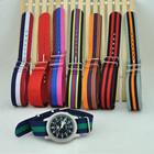 Hotsale fashion nato nylon multiple strap watch