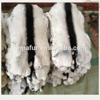 Factory Sale Dyed Chinchilla Color Rex Rabbit Fur Skins