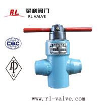 Stem gate valve for oilfield