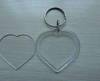 clear plastic keychain photo holder viewer