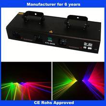 Quad RGYV laser light pictures