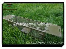 Premium Steel Spraying Double Doors Trap Cage