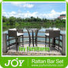 Rattan Bar Chairs Outdoor Furniture General Use and Rattan / Wicker Material Cafe Furniture