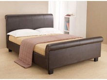 wholesale size sleigh beds, faux leather sleigh beds, cheap sleigh beds