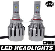 High quality Hi/Lo h4 cree led headlight kit 60w motorcycle led headlight