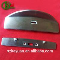 China custom precision aluminum greenhouse parts
