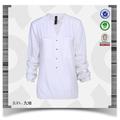 2015 mais recente modelo novo sgs uniforme escritório elegante blusa branca