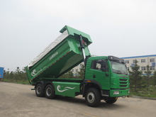 China popular garbage dump truck for sale