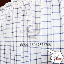 moderno por debajo de cordón corto blanco cortina cortina confeccionada telas de tapicería para la puerta