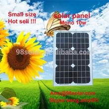 Mono solar module 10w 18v, Solar panel price, we are factory.