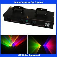 Four head RGYV laser kids dj decks