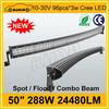 Kimh Alibaba china supply automotive led light bar 50 inch