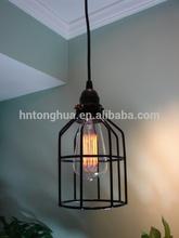 antique edison pendant light vintage