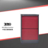 Hot Sale IGO-002-2D Durable Lightweight Large Capacity Knocked Down Steel Camera Storage Cabinet
