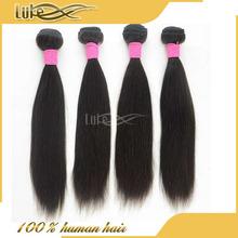 solan club wholesale product 100% virgin peruvian silky straight wave hair