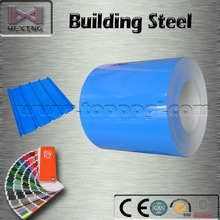 Prime PPGI/PPGL Sky Blue/RAL 5012 Steel Coil For Roofing From Manufacturer