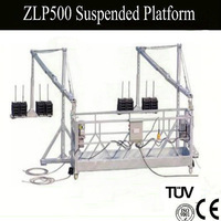 custom aluminum/ steel suspended working platform hanging scaffold systems