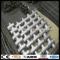 ASME B16.9/ASTM 316 Standard Stainless Steel Seamless Pipe Tee