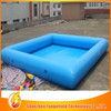 PVC materail outdoor spa tub 0.9mm pvc inflatable square swimming pool
