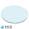 Top quality clear blue black bronze furniture glass tempered glass panel for dinning table/coffee table/lazy susan turntable