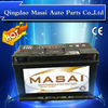 Hot!!!!12V Lead Acid JIS Standard Dry charged car battery (automotive battery)-N75-12V75AH