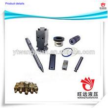 hydraulic breaker hammer chisel,rod pin,accumulator,front cover,ring bush,valve,seal kit