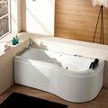 5,7 Füße klein innen-ecke Installation acryl mini badewanne