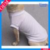 custom wholesale plain dog t-shirts