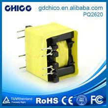 Strong power electric car audio transformer PQ2620