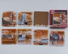 souvenir personalizzato stampato montagne mdf per Londra
