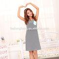 smooth personalizado impresso elegante mulheres grávidas vestidos de verão bk004