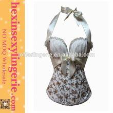 De China proveedor venta superior barato del corsé de baile vestidos