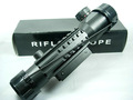 Caça 4x28E R & G iluminado Rifle Scope visão w10-20mm Weave Rail Mounts Riflescope Rifles para venda