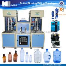 Semi automatic 5 gallon bottle Blowing Molding Machine price cost