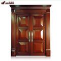 Preço mais baixo china por atacado de madeira maciça porta portas de madeira de design