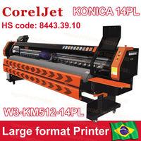 High Speed konica digital printer prices plotter de impresion plotter de largo ancho