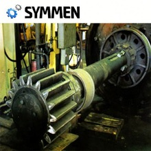 Forged Gear Shaft Gear Wheel Shaft With Max Length 16M