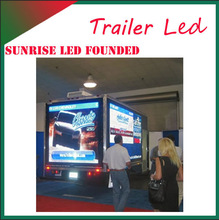 P10 Outdoor Full-color Van Mobile Ads Media LED Video Display