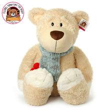 Hot sale!!!Super cute teddy bear plush animal doll sweet stuffed toy girl baby birthday gift