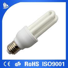 China alibaba 2U 7W cfl lights 100% tri-color with CE