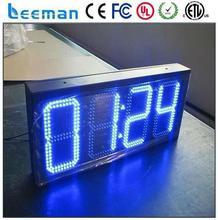 temperature and humidity led display rental aluminum cabinet 7 segment led display 3 digits