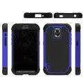 Para Samsung GALAXY S5 activa ( térmicos G870 ) shell, Patrón de fútbol cubierta 2in1 de dos colores desmontable TPU + PC caja del teléfono móvil
