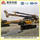 Small construction equipment, KR80A Hydraulic rotary auger rig, Max.drilling depth 28m