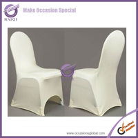 wedding lycra stretch folding cheap spandex chair cover