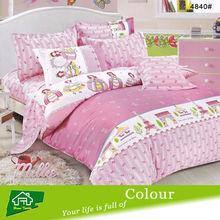 korean princess print baby bedding set