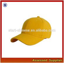 XY304/ Fashion plain dyed baseball cap/ blank baseball hat wholesale