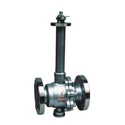 Flanged Long Stem Cryogenic Ball Valve stainless steel ball valve